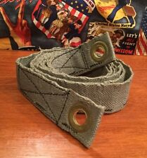 Original WW2 US Military Army Browning 1919 1917 Cloth Ammo belt 30-06 .30 cal