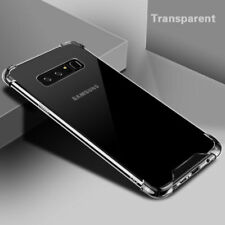 For Samsung Note 8 S7 Edge S9 Plus Hybrid Shockproof Hard Clear Case Phone Cover