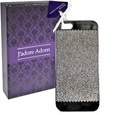New Genuine J'Adore Adorn Silver Colour Swarovski Elements Case for Iphone 5/5S