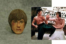"1/6 CIAN  Way of Dragon Chuck Norris Scars man  12"" ferritic Figure head toys CA"