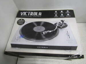 Victrola Bluetooth Stereo Turntable- Silver