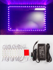 40ft Brightest STOREFRONT Purple LED LIGHT 5630 + UL Listed 12v 6A Power Supply