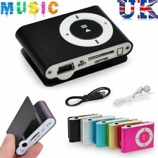 Mini Practical USB Clip MP3 Music Player Micro LCD Music Media UK STOCK