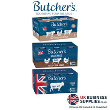 More details for butcher's tinned dog food 6x400g variety tripe gravy & tripe recipes grain free