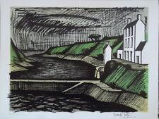Bernard Buffet lithographie originale Paysage P1715