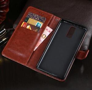 """PU Leather Wallet Card Case Cover Stand For  5.7""""  Cubot X18  Smartphone"""
