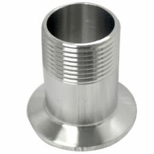 """1"""" DN25 Sanitary Male Threaded Ferrule Pipe Fitting to TRI CLAMP (OD 50.5mm)"""