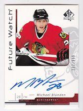 2006-07 NHL Upper Deck SP Authentic #172 Michael Blunden RC SP #/999 Autographed
