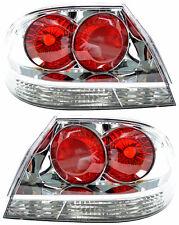 Pair of Tail Lights Mitsubishi Lancer 08/03-08/07 New Sedan CH VRX 04 05 06 Rear