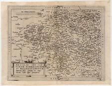 Hessen - Deutecum (de Jode) 1578 Kupfer-Karte-Map SEHR SELTEN!!!