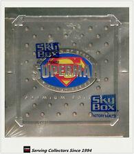 1994 Skybox Superman The Man Of Steel Platinum Trading Card Box (24 Pks) x 2