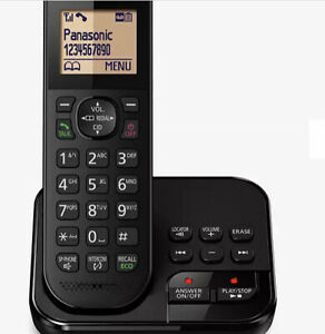 Panasonic KX-TGC420E single cordless phone, answering machine, LCD display