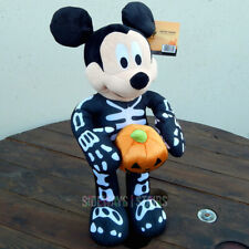 "21"" DISNEY SKELETON MICKEY HALLOWEEN GREETER decoration porch prop rare 2019 NEW"