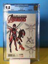 All-New All-Different Avengers #9 Alex Ross design variant CGC 9.8 Marvel 2016