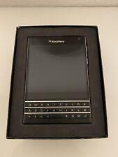 BlackBerry  Passport - 32GB - Schwarz (Ohne Simlock)
