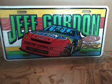 Jeff Gordon #24 Dupont Monte Carlo 1995 Vintage metal License Plate