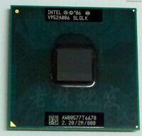 Intel Mobile Core 2 Duo T6670 2.2 Ghz 2M 800FSB sP LP SLGLK