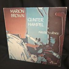 Marion Brown & Gunter Hampel - Reeds 'N Vibes NM LP 1978 Improvising Artists ...
