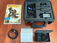 Sennheiser ew 100 G3 Lavalier & Handheld Wireless Microphone Combo w/ Tram Tr50