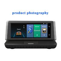 "4G GPS WiFi 1080P Android 5.1 8"" Bluetooth HD Car DVR Video Recorder Dash Camera"