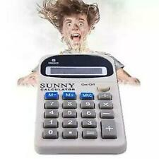 Calculator Electric Shocking Office Prank Joke Funny Trick Novelty Gag Toy Gifts