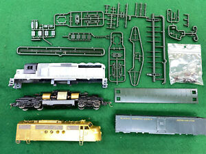 HO Brass FT Shell, Athearn GP 50, REA Express Reefer for Parts or Kitbashing