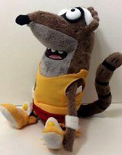 "Regular Show RIGBY RACCOON 9"" Plush Stuffed Cartoon Network Character Animal"