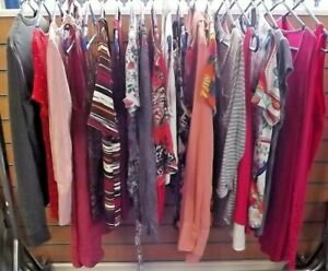 WOMEN'S TOP BUNDLE x 20 size XS-18 inc MONSOON BODEN FRENCH CONNECTION