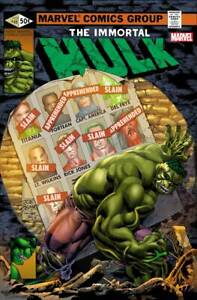 Immortal Hulk # 46 Bennett Homage Variant Cover NM Marvel Pre Sale Ships May 5th