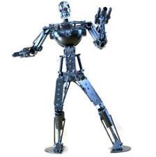 Collectible Metal Terminator Robot  Art Sculpture Decor Figurine 16 inch Tall