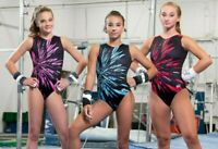 NEW DROP GK Elite Burst Tank Competitive Leotard Gymnastics 3 Colors Child/Adult