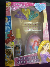 New Disney Princess Happily Ever After Hair Set Gift Present Girls Birthday Xmas