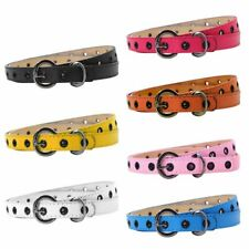 Toddler Kids Baby Leather Waistband Child Girl Boy Adjustable Buckle Belts Strap