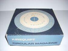 1 AIREQUIPT Circular Magazine Carousel For 100 Slides in Original Box