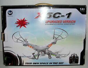 X5C-1 Remote Control QUAD Copter DRONE HD CAMERA Upgraded Version NEW
