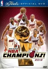 NBA: BACK TO BACK NBA CHAMPIONS 2013 - MIAMI HEAT - THE FINALS (2013) *NEW DVD*