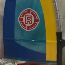 New listing RETIRED FISHER PRICE RESCUE HEROES WIND SURF SAIL BOAT GLIDER VINTAGE collectibl