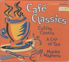 Cafe Classics ~ Various Artists ~ Classical ~ 3 CD Set ~ Used VG