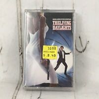 The Living Daylights OST Cassette Tape warner bros