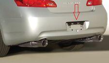 Rear License Plate Mount Bracket For Infiniti Q60 Q40 G25 G3537 Coupe Sedan New