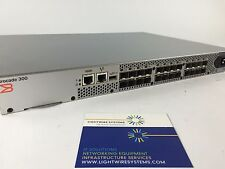 Brocade 300 SAN Fibre Channel Switch 24 Active Ports QTY  **Warranty**
