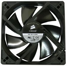 CORSAIR 120MM 12CM 3 PIN 31-000419 BLACK HIGH PERFORMANCE COOLING FAN OEM