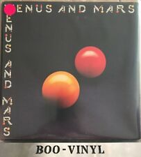 PAUL McCARTNEY WINGS Venus And Mars ORIG VINYL LP  IN ORIG SLEEVE Posters Ex