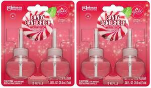 Glade Plugins Scented Oil Refills - Candy Cane Cheer - Holiday Collection