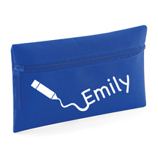 Personalised Name Pencil Case Back to School Stuff Custom Stationary