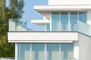 Frameless Glass Balustrade Only £89 p/mtr - Decking, Patio, Balconies