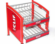 Clif Bar Branded 2 Shelf Counter Top Display Sale Rack - NEW