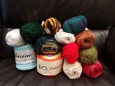 3 DAY AUCTION BUNDLE KNITTING CROCHET WOOL/YARN BALLS 1000g RANDOM MIXED JOBLOT