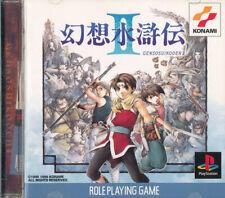 Genso Suikoden II  PS1 Playstation 1 Japan Import Good/Mint   US SELLER