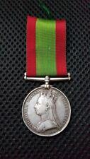 More details for 1878/79/80 afghanistan medal 838 pte.t.jones.2/8th.reg.2nd.afghan war.no clasp.